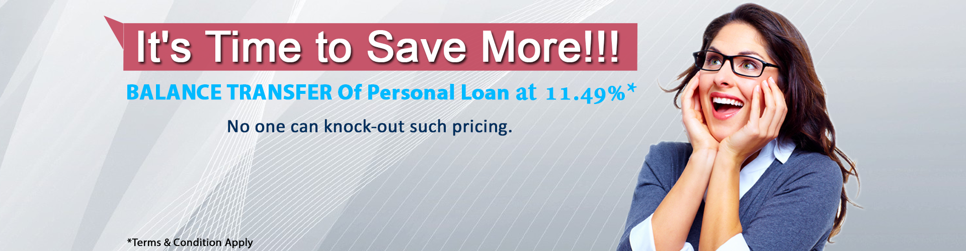 personal loan for Balance Transfer